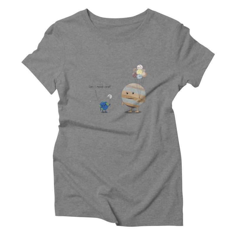 Oh, Jupiter! Women's Triblend T-shirt by thibault's Artist Shop