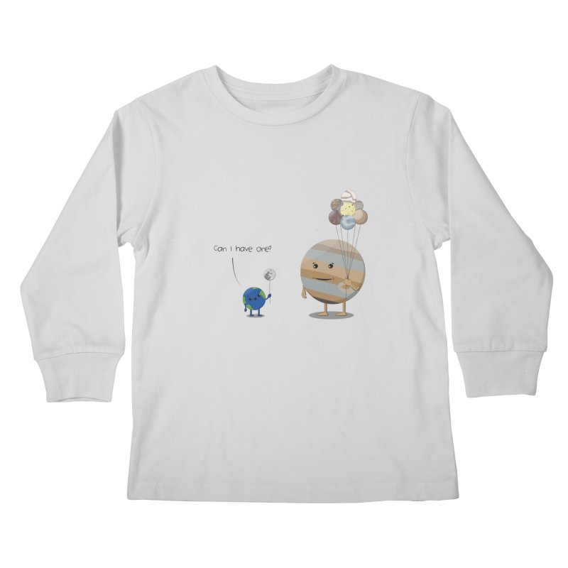 Oh, Jupiter! Kids Longsleeve T-Shirt by thibault's Artist Shop