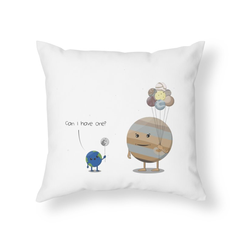 Oh, Jupiter! Home Throw Pillow by thibault's Artist Shop