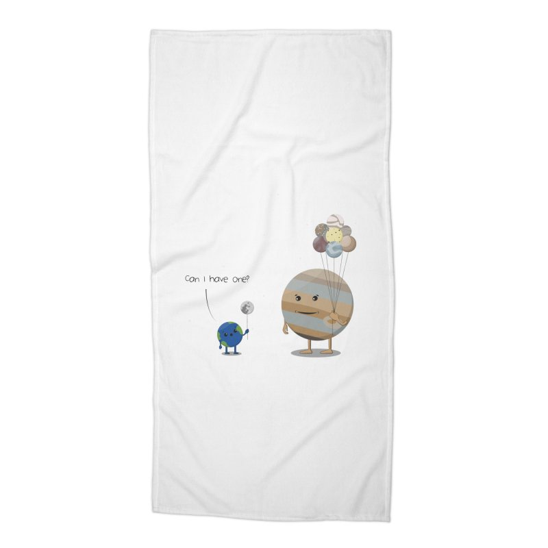 Oh, Jupiter! Accessories Beach Towel by thibault's Artist Shop