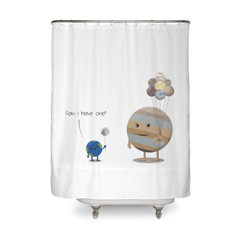 Oh, Jupiter! Home Shower Curtain by thibault's Artist Shop