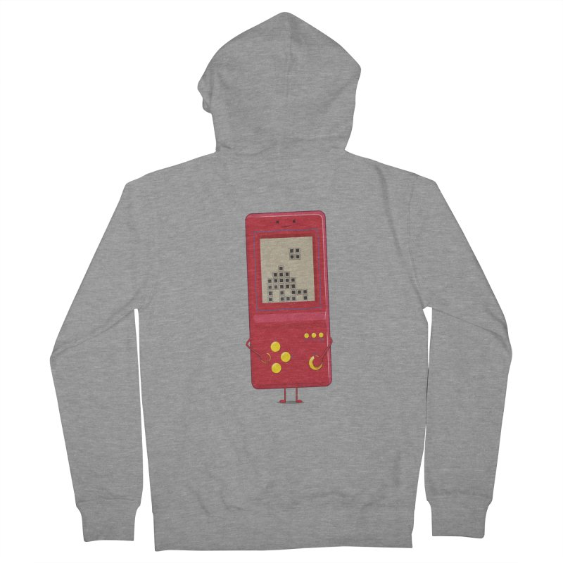 Brick game Women's Zip-Up Hoody by thibault's Artist Shop
