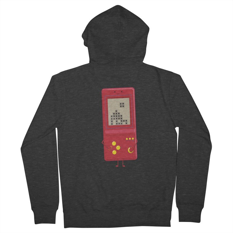 Brick game Men's Zip-Up Hoody by thibault's Artist Shop