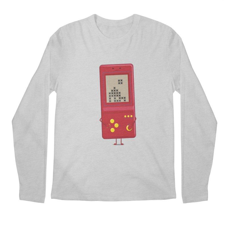 Brick game Men's Longsleeve T-Shirt by thibault's Artist Shop