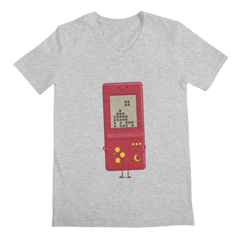 Brick game Men's V-Neck by thibault's Artist Shop