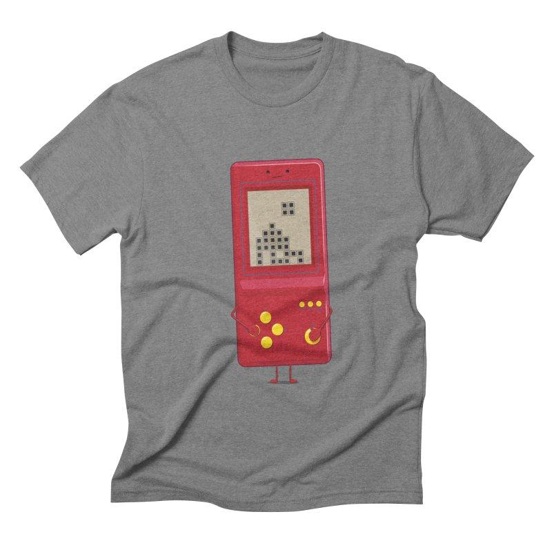 Brick game Men's Triblend T-shirt by thibault's Artist Shop