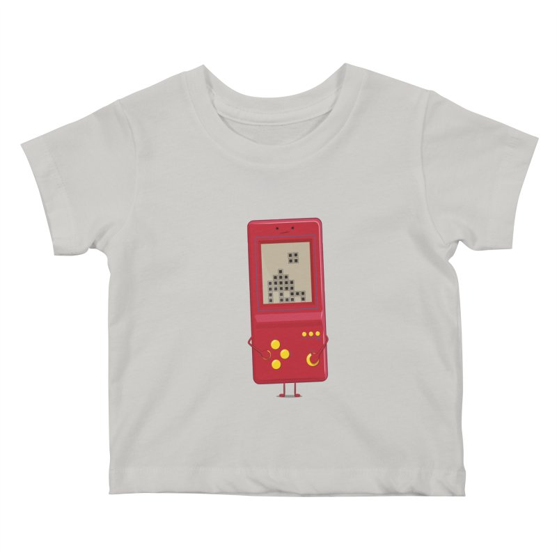 Brick game Kids Baby T-Shirt by thibault's Artist Shop