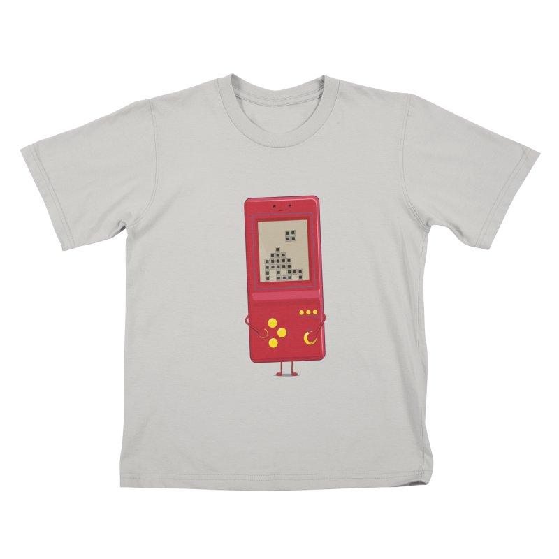 Brick game Kids T-Shirt by thibault's Artist Shop