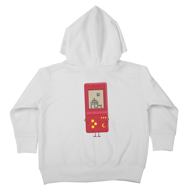 Brick game Kids Toddler Zip-Up Hoody by thibault's Artist Shop