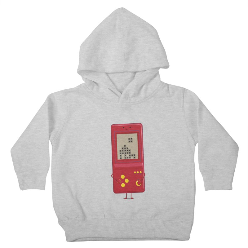 Brick game Kids Toddler Pullover Hoody by thibault's Artist Shop