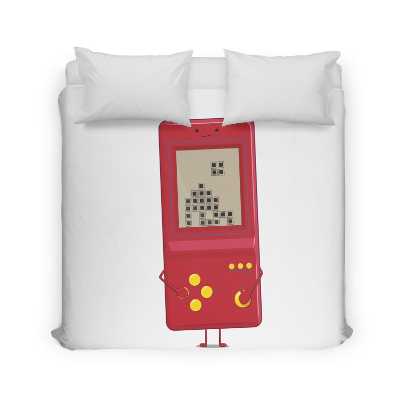 Brick game Home Duvet by thibault's Artist Shop