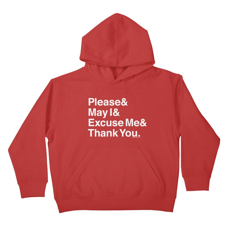 Magic Words Kids Pullover Hoody by things made good