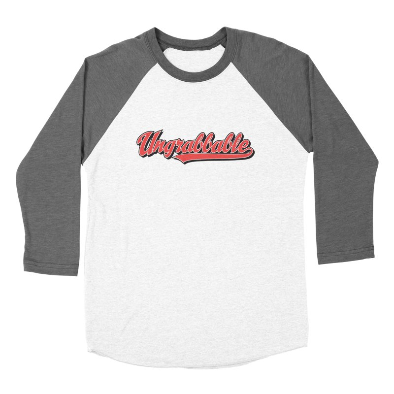 Ungrabbable Men's Baseball Triblend Longsleeve T-Shirt by things made good