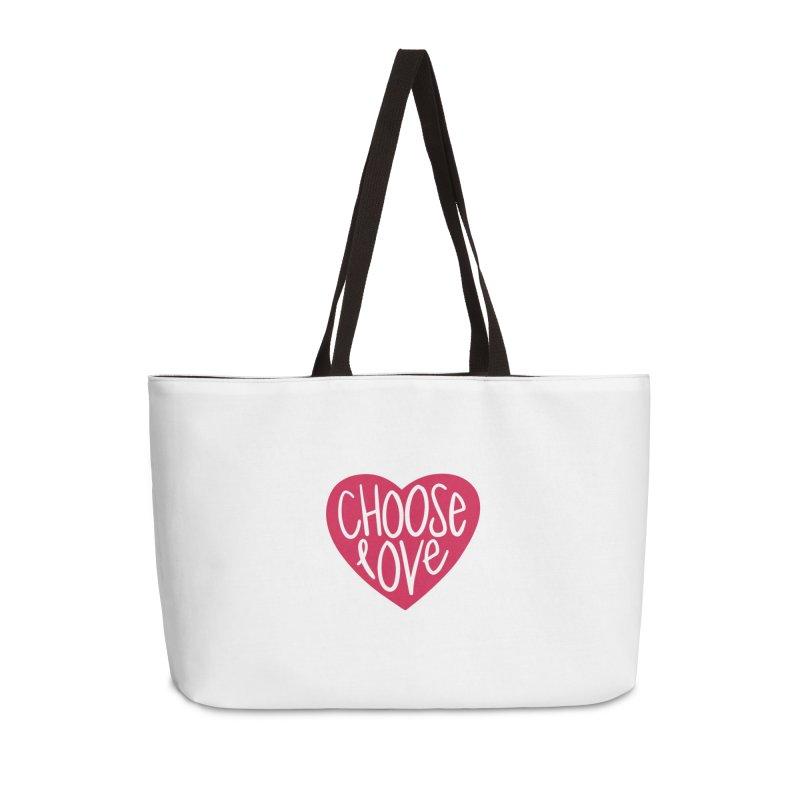 Choose Love Accessories Weekender Bag Bag by things made good