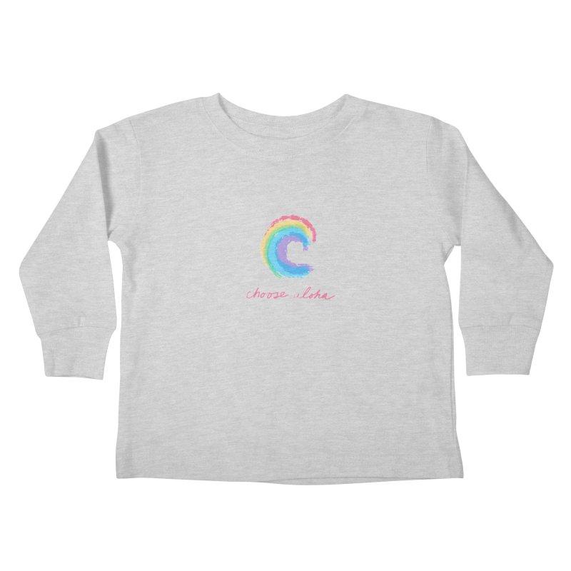 Choose Aloha Kids Toddler Longsleeve T-Shirt by things made good