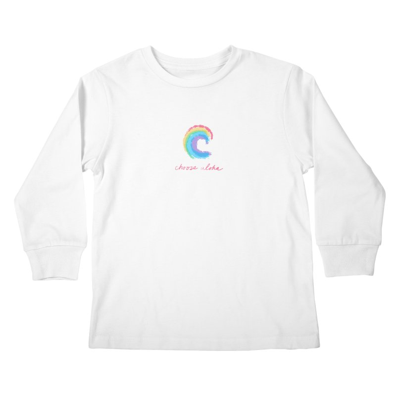 Choose Aloha Kids Longsleeve T-Shirt by things made good