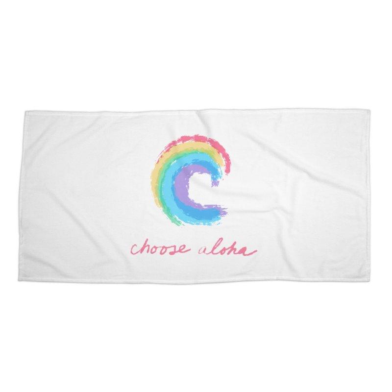 Choose Aloha Accessories Beach Towel by things made good