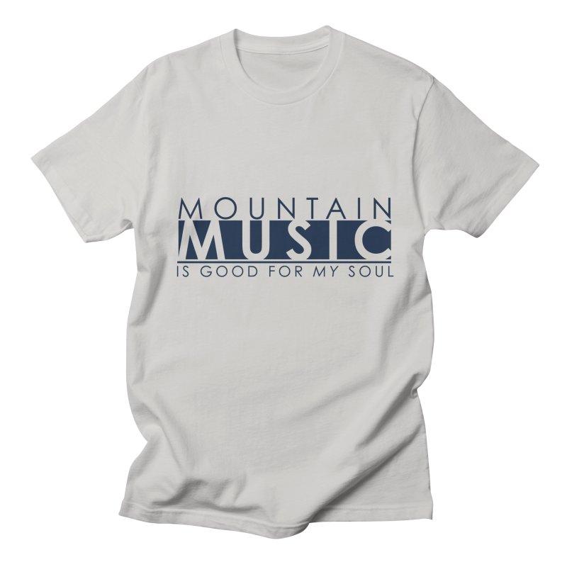 Mountain Music Men's T-Shirt by thinkinsidethebox's Artist Shop