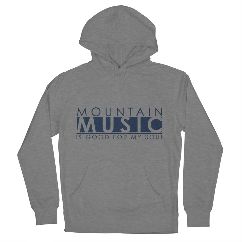 Mountain Music Men's French Terry Pullover Hoody by thinkinsidethebox's Artist Shop