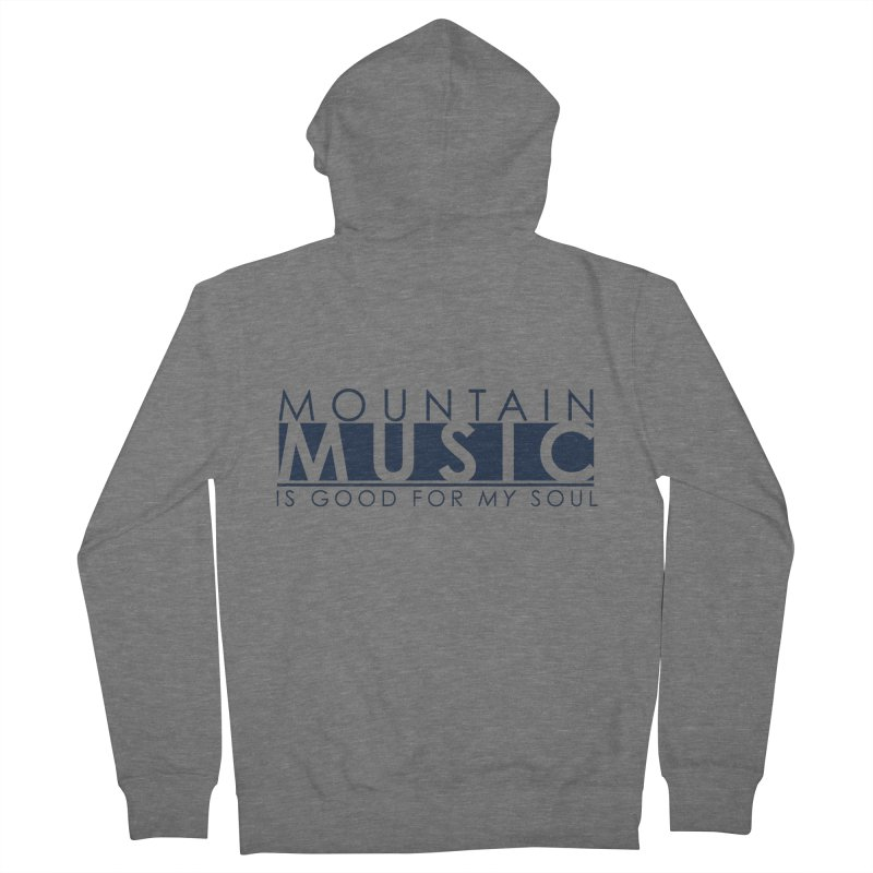 Mountain Music Women's Zip-Up Hoody by thinkinsidethebox's Artist Shop