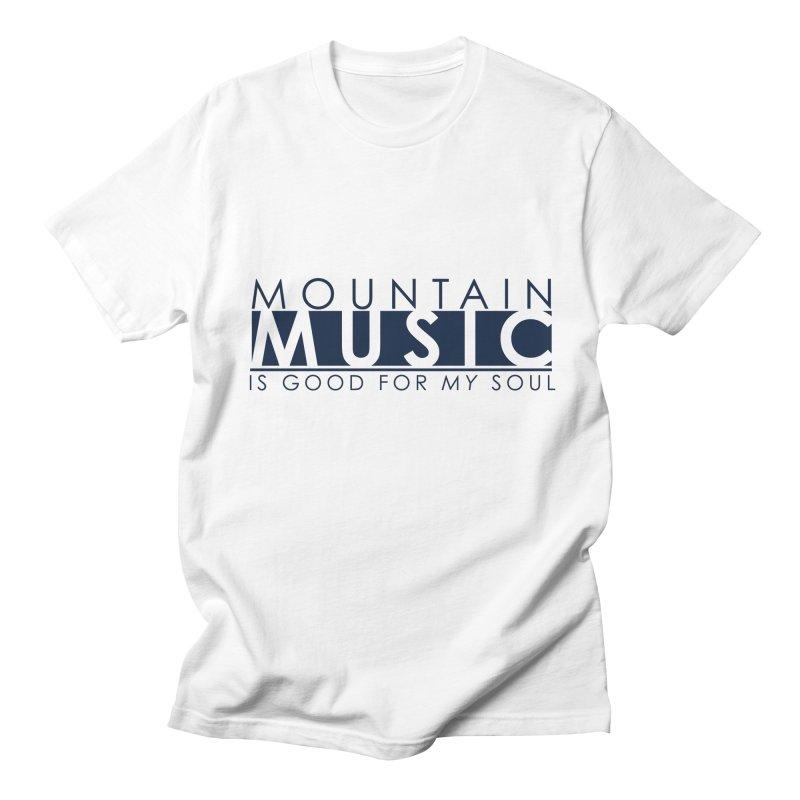 Mountain Music Men's Regular T-Shirt by thinkinsidethebox's Artist Shop