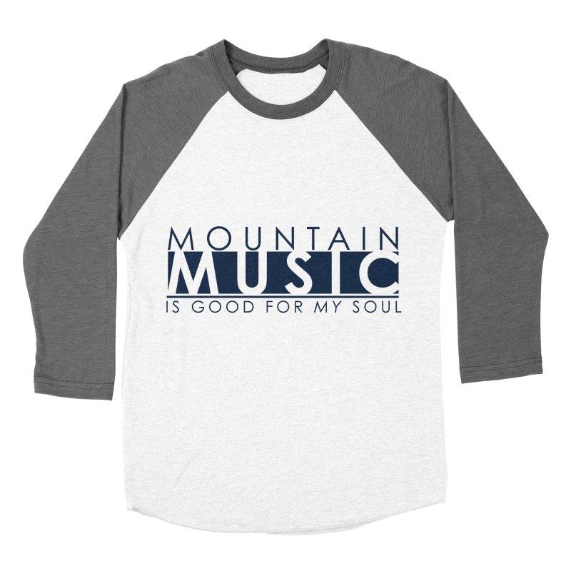Mountain Music Men's Baseball Triblend Longsleeve T-Shirt by thinkinsidethebox's Artist Shop
