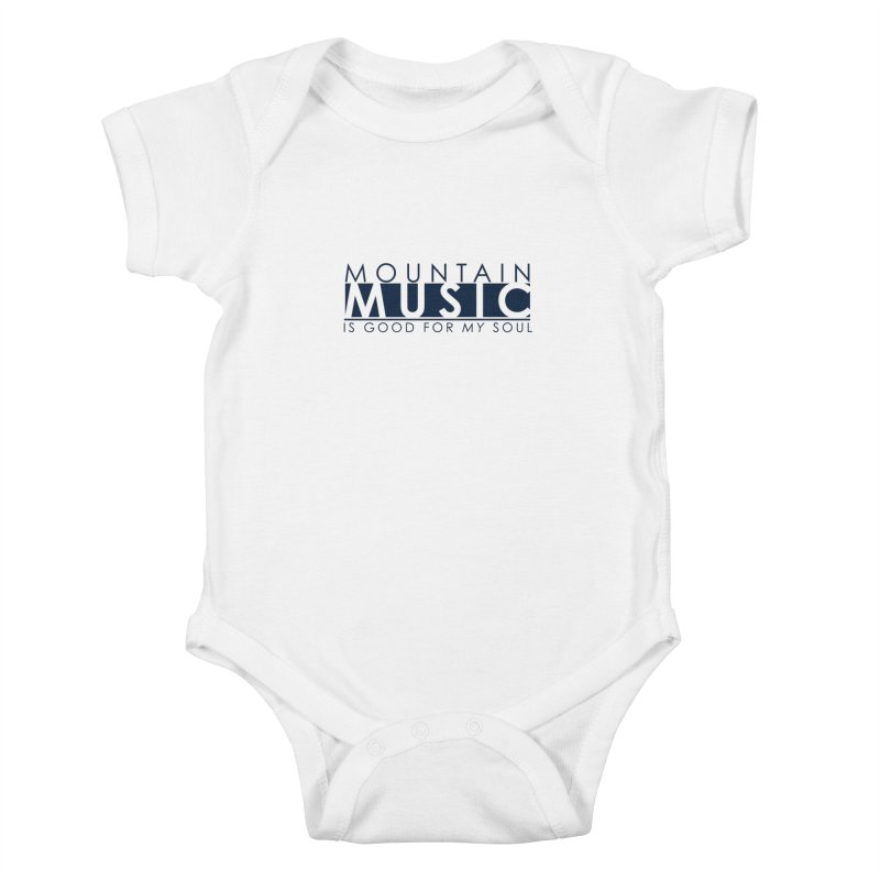 Mountain Music Kids Baby Bodysuit by thinkinsidethebox's Artist Shop