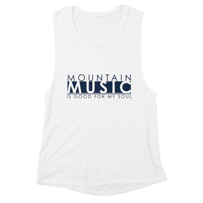Mountain Music Women's Tank by thinkinsidethebox's Artist Shop