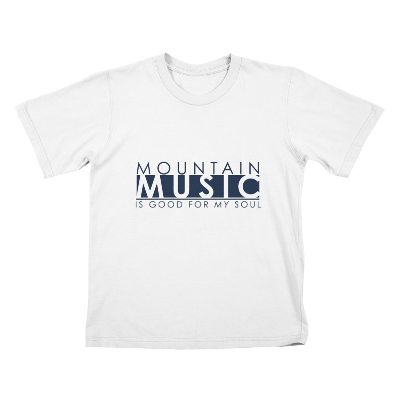 Mountain Music Kids T-Shirt by thinkinsidethebox's Artist Shop