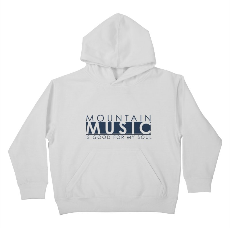 Mountain Music Kids Pullover Hoody by thinkinsidethebox's Artist Shop