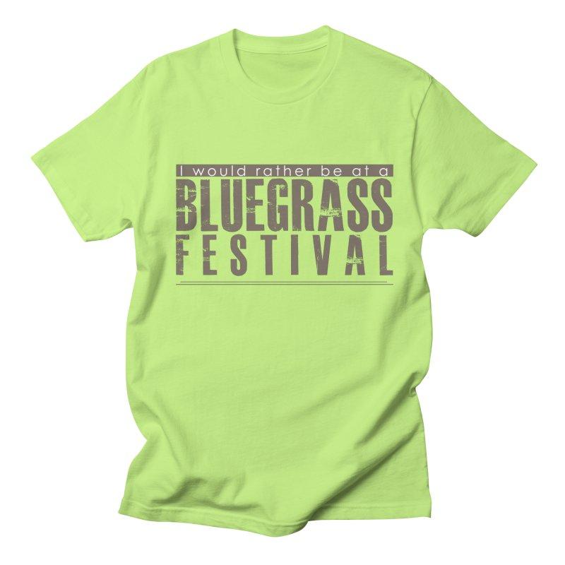 Bluegrass Festival Men's Regular T-Shirt by thinkinsidethebox's Artist Shop