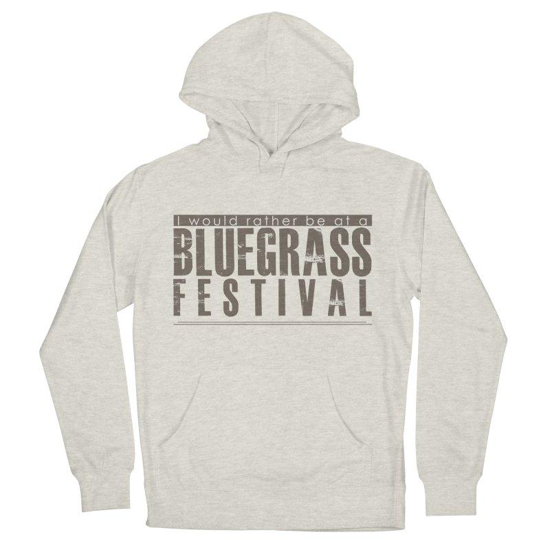 Bluegrass Festival Men's French Terry Pullover Hoody by thinkinsidethebox's Artist Shop