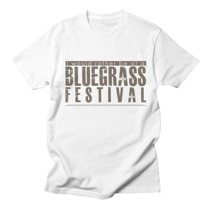 Bluegrass Festival Men's Regular T-Shirt by thinkinsidethebox's Artist Shop