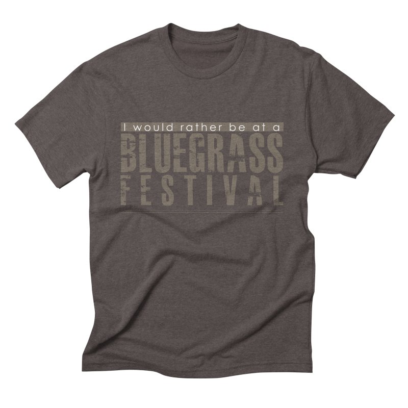 Bluegrass Festival Men's Triblend T-Shirt by thinkinsidethebox's Artist Shop