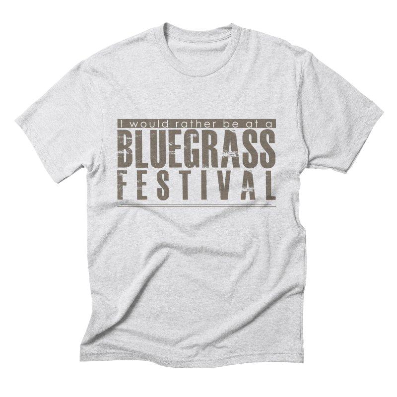 Bluegrass Festival Men's Triblend T-Shirt by thinkinsidethebox's Artist Shop