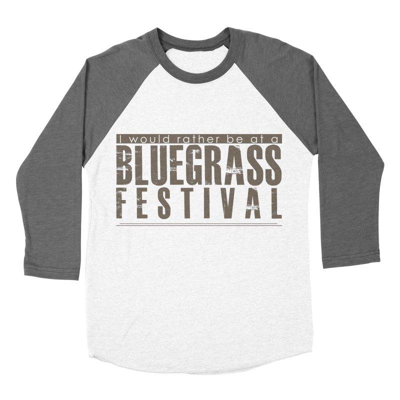 Bluegrass Festival Men's Baseball Triblend Longsleeve T-Shirt by thinkinsidethebox's Artist Shop