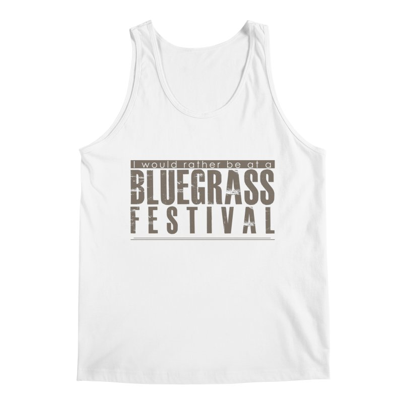 Bluegrass Festival Men's Tank by thinkinsidethebox's Artist Shop