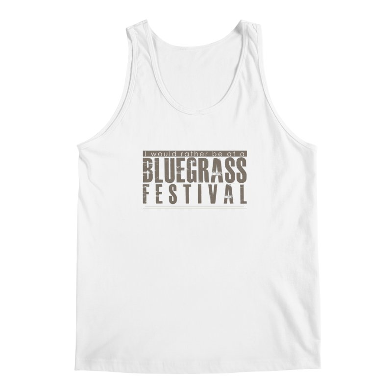 Bluegrass Festival Men's Regular Tank by thinkinsidethebox's Artist Shop