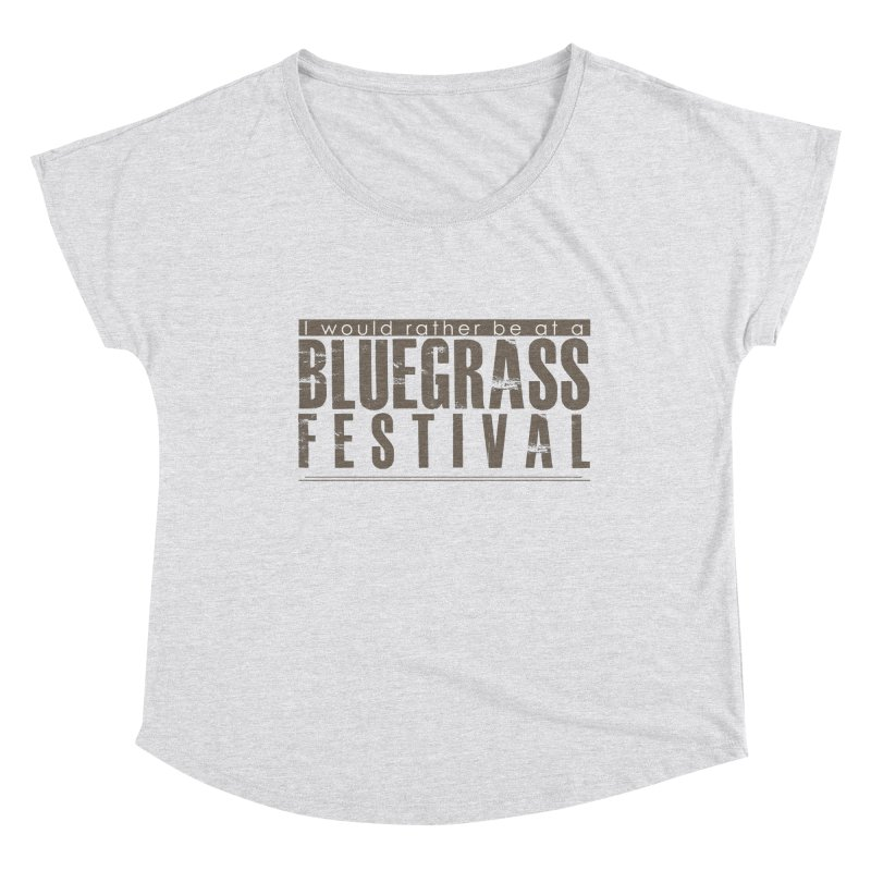 Bluegrass Festival Women's Scoop Neck by thinkinsidethebox's Artist Shop