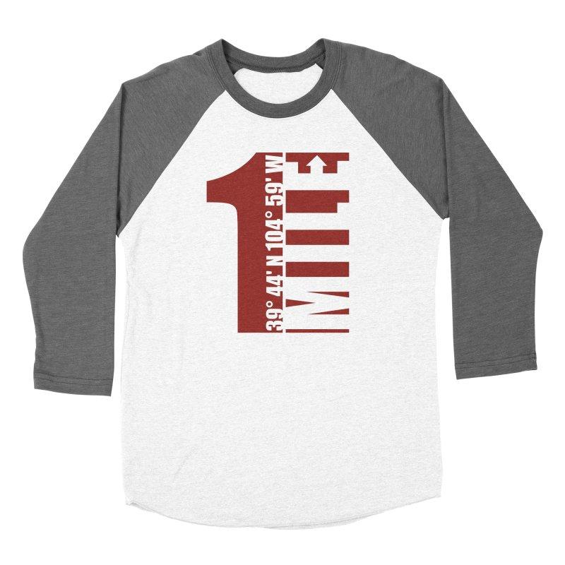 Denver CO Mile High Women's Longsleeve T-Shirt by thinkinsidethebox's Artist Shop