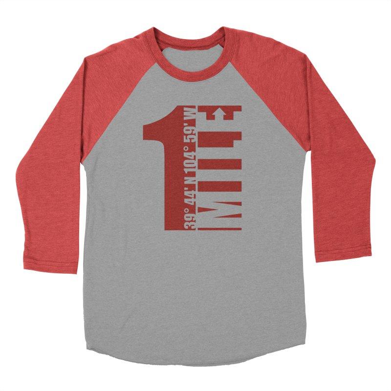 Denver CO Mile High Men's Longsleeve T-Shirt by thinkinsidethebox's Artist Shop