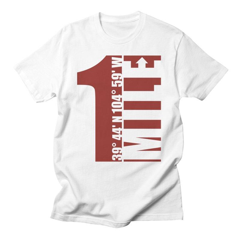 Denver CO Mile High Men's T-Shirt by thinkinsidethebox's Artist Shop