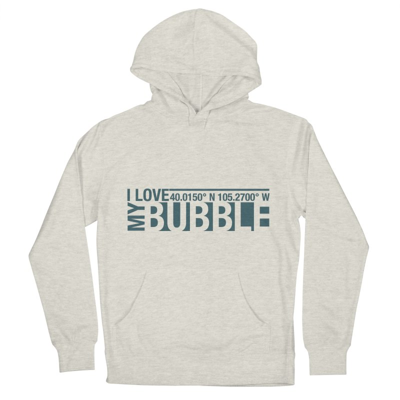 Boulder Bubble Women's French Terry Pullover Hoody by thinkinsidethebox's Artist Shop