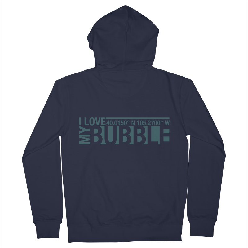 Boulder Bubble Women's French Terry Zip-Up Hoody by thinkinsidethebox's Artist Shop