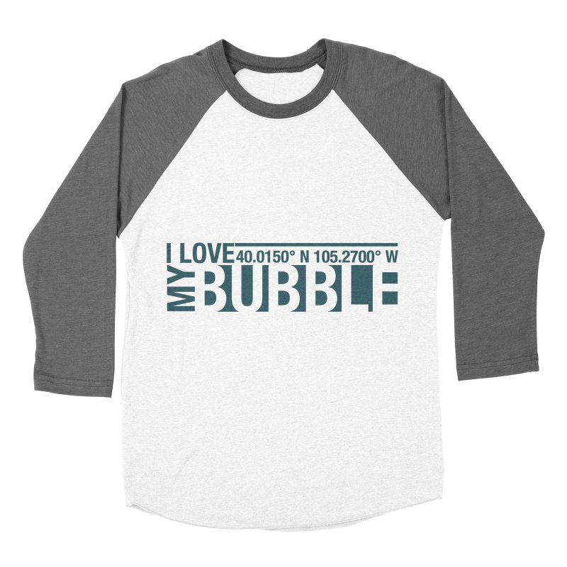Boulder Bubble Women's Baseball Triblend Longsleeve T-Shirt by thinkinsidethebox's Artist Shop