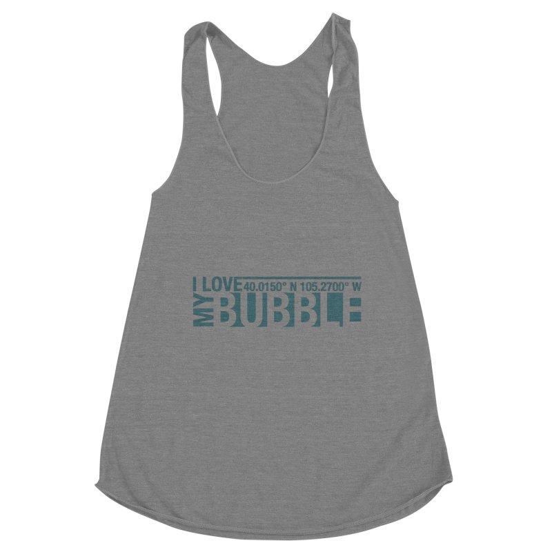 Boulder Bubble Women's Tank by thinkinsidethebox's Artist Shop