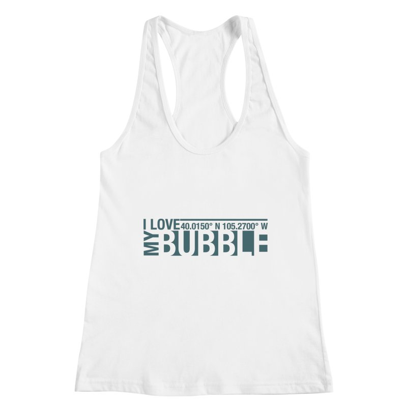 Boulder Bubble Women's Tank by thinkinsidethebox's Artist Shop