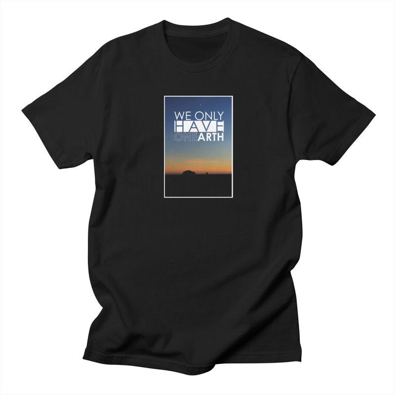 We only have one earth Women's Regular Unisex T-Shirt by thinkinsidethebox's Artist Shop