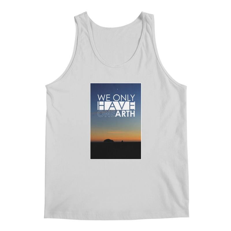 We only have one earth Men's Regular Tank by thinkinsidethebox's Artist Shop