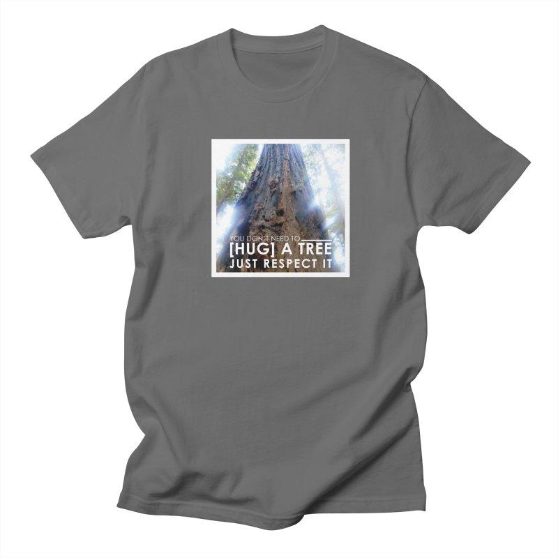 Tree [Hugger] Men's T-Shirt by thinkinsidethebox's Artist Shop